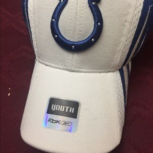 Brand New Indianapolis colt youth hat by Reebok